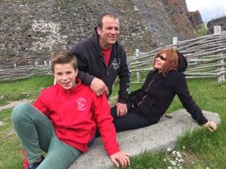 La voie romaine - famille