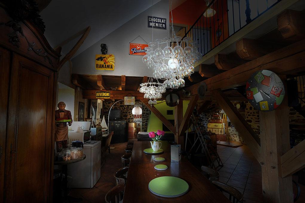 La Voie Romaine - Salle repas