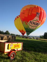 La Voir Romaine - montgolfière